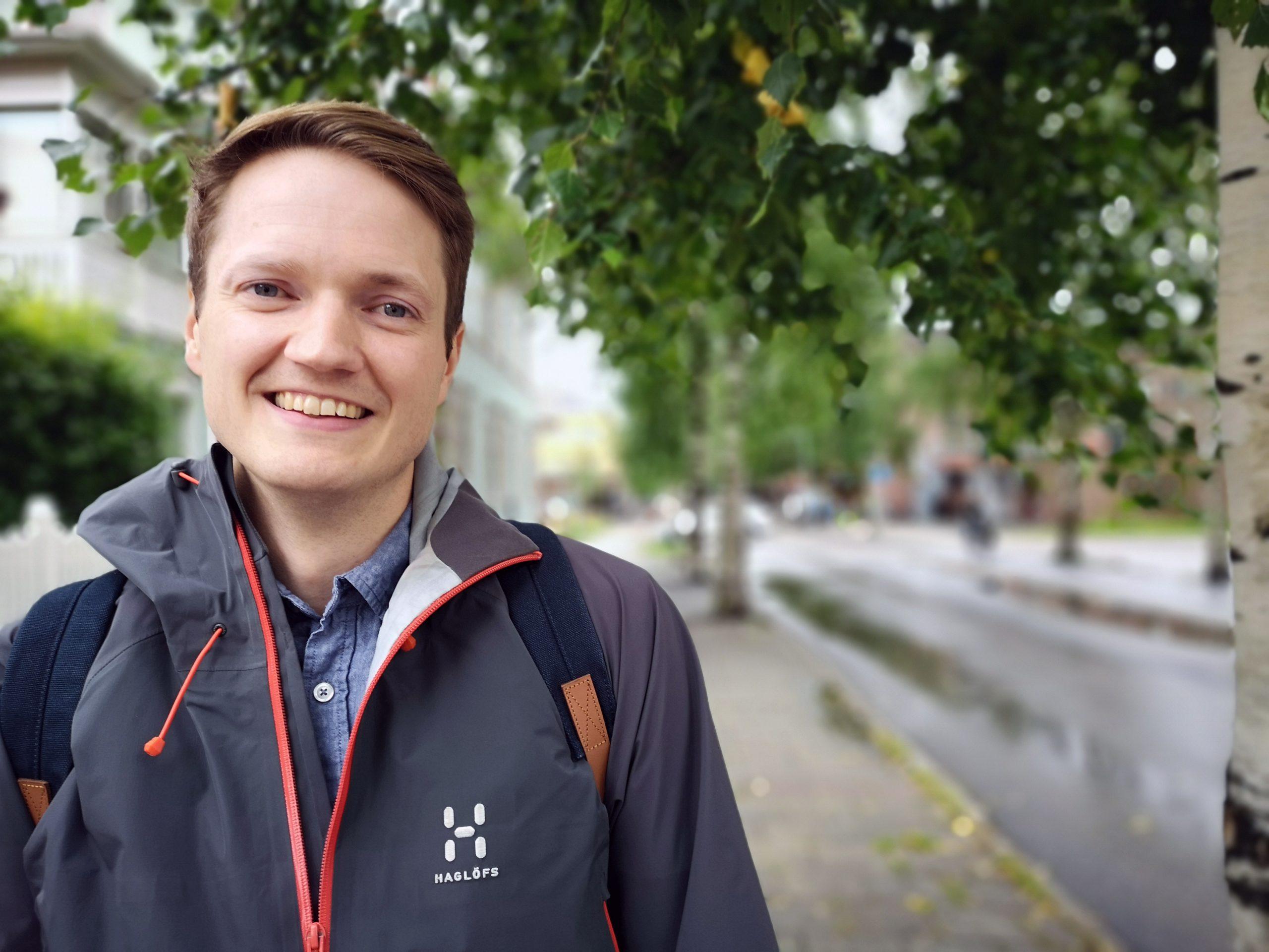 Delningsexperten Philip Näslund